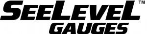 Seelevel Gauges tm logo - black