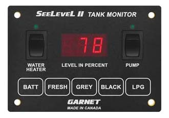 709 HP3W web 709 hp3w seelevel ii™ tank monitor (display only) garnet instruments  at aneh.co