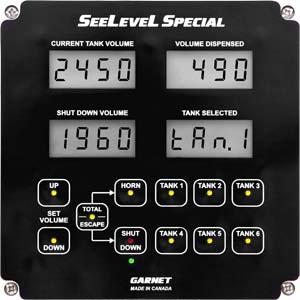 Treater Truck Tank Level Gauge