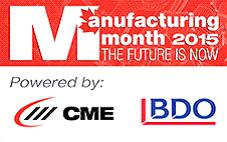 Manufacturing month logo