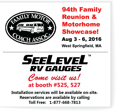 RV FMCA Show ad Aug 2016