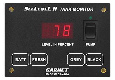 [SCHEMATICS_4LK]  709-P3 SeeLeveL II Tank Monitor | Garnet Instruments | Wiring Diagram Rv Tank Level Monitor |  | Garnet Instruments